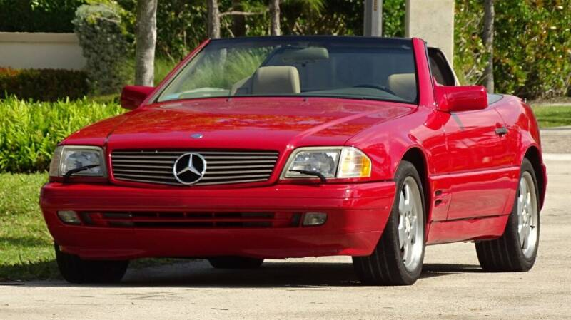 1996 Mercedes-Benz SL-Class for sale at Premier Luxury Cars in Oakland Park FL