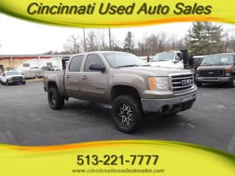 2012 GMC Sierra 1500 for sale at Cincinnati Used Auto Sales in Cincinnati OH