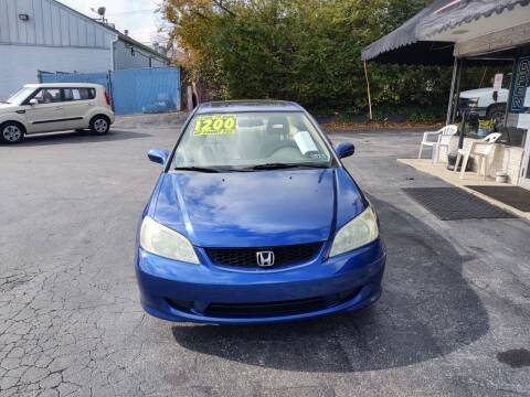2004 Honda Civic for sale at Credit Connection Auto Sales Inc. YORK in York PA