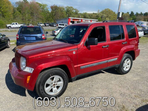2010 Jeep Liberty for sale at J & E AUTOMALL in Pelham NH