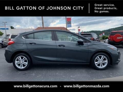 2018 Chevrolet Cruze for sale at Bill Gatton Used Cars - BILL GATTON ACURA MAZDA in Johnson City TN