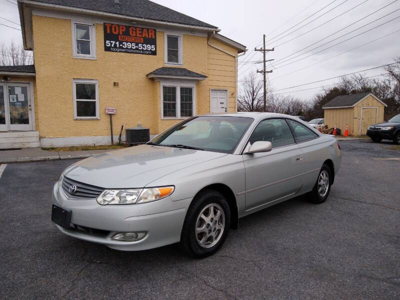 2003 Toyota Camry Solara for sale at Top Gear Motors in Winchester VA