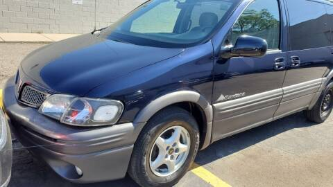 2004 Pontiac Montana for sale at Jeffreys Auto Resale, Inc in Clinton Township MI