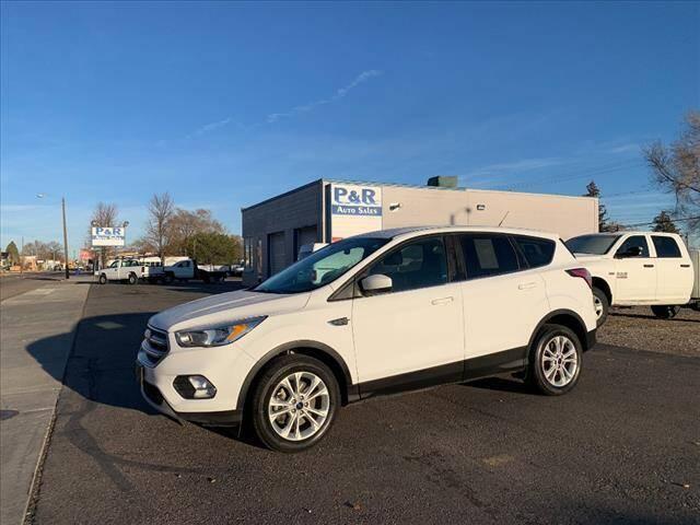 2017 Ford Escape for sale at P & R Auto Sales in Pocatello ID