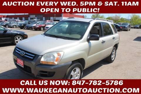 2007 Kia Sportage for sale at Waukegan Auto Auction in Waukegan IL
