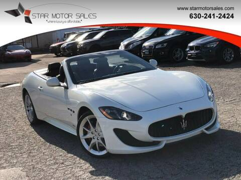 2013 Maserati GranTurismo for sale at Star Motor Sales in Downers Grove IL