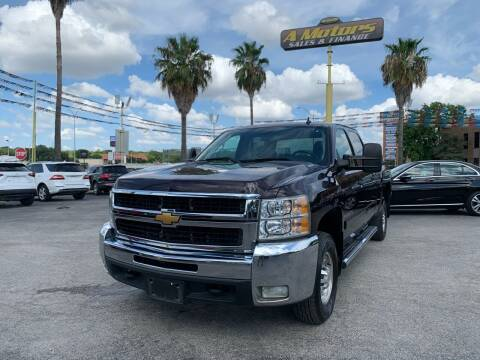 2008 Chevrolet Silverado 2500HD for sale at A MOTORS SALES AND FINANCE - 5630 San Pedro Ave in San Antonio TX