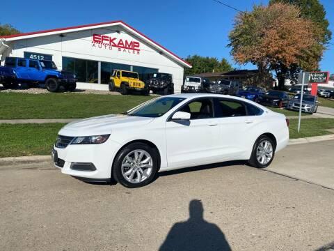 2017 Chevrolet Impala for sale at Efkamp Auto Sales LLC in Des Moines IA