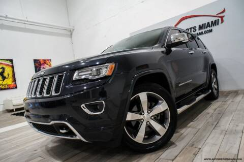 2014 Jeep Grand Cherokee for sale at AUTO IMPORTS MIAMI in Fort Lauderdale FL