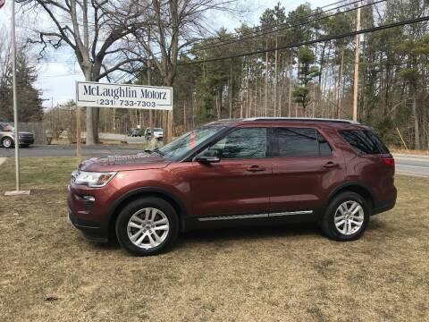 2018 Ford Explorer for sale at McLaughlin Motorz in North Muskegon MI