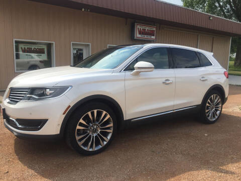 2016 Lincoln MKX for sale at Palmer Welcome Auto in New Prague MN