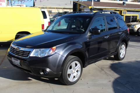 2010 Subaru Forester for sale at Good Vibes Auto Sales in North Hollywood CA