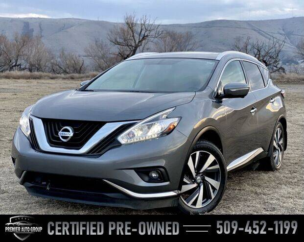 2015 Nissan Murano for sale at Premier Auto Group in Union Gap WA