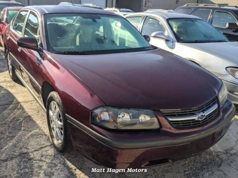 2004 Chevrolet Impala for sale at Matt Hagen Motors in Newport NC