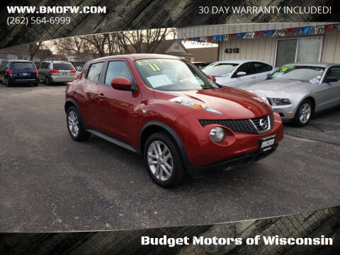 2011 Nissan JUKE for sale at Budget Motors of Wisconsin in Racine WI