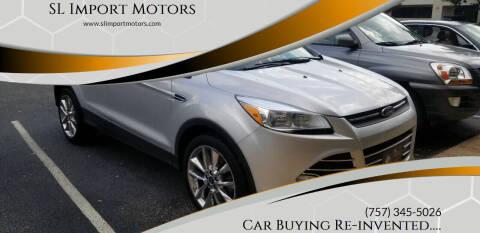 2016 Ford Escape for sale at SL Import Motors in Newport News VA