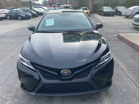 2019 Toyota Camry for sale at J Franklin Auto Sales in Macon GA