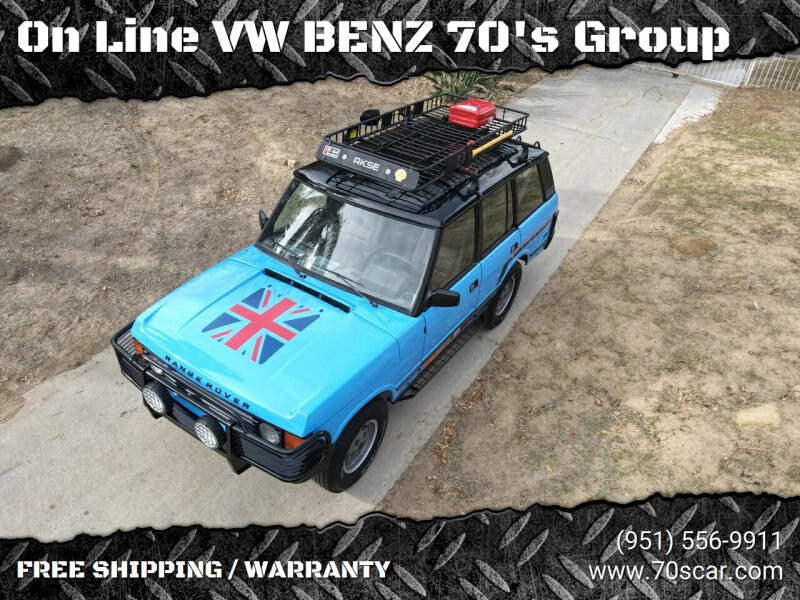 1989 Land Rover Range Rover for sale at On Line VW BENZ 70's Group in Warehouse CA