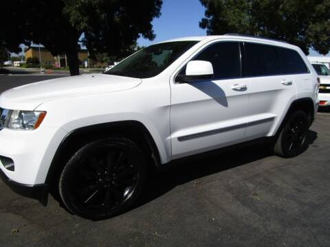 2013 Jeep Grand Cherokee for sale at KM MOTOR CARS in Modesto CA