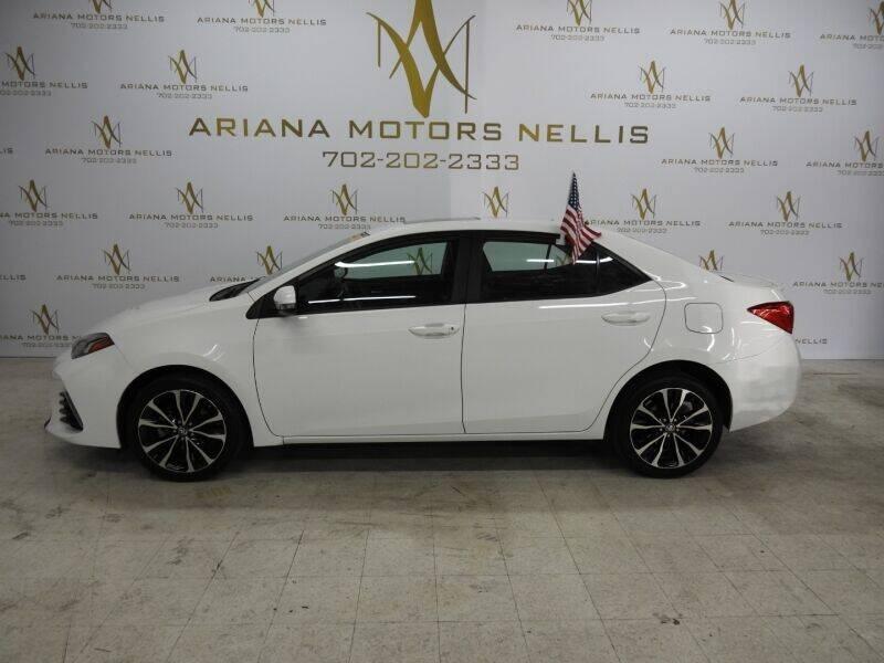 2017 Toyota Corolla for sale in Las Vegas, NV