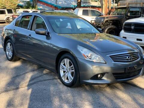 2013 Infiniti G37 Sedan for sale at AWESOME CARS LLC in Austin TX