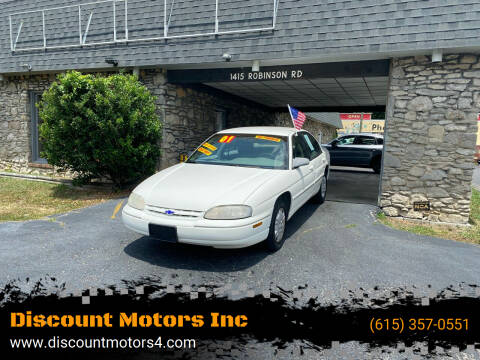 2001 Chevrolet Lumina for sale at Discount Motors Inc in Old Hickory TN