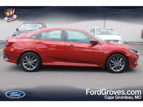 2019 Honda Civic for sale at JACKSON FORD GROVES in Jackson MO