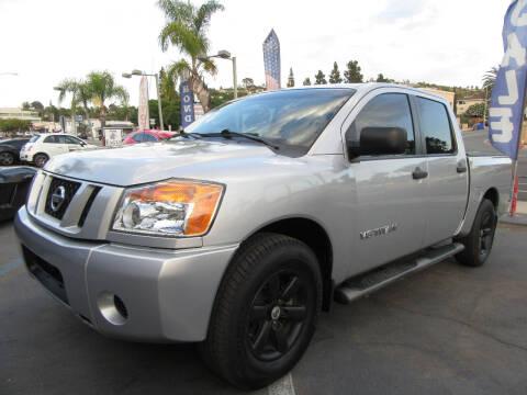 2008 Nissan Titan for sale at Eagle Auto in La Mesa CA