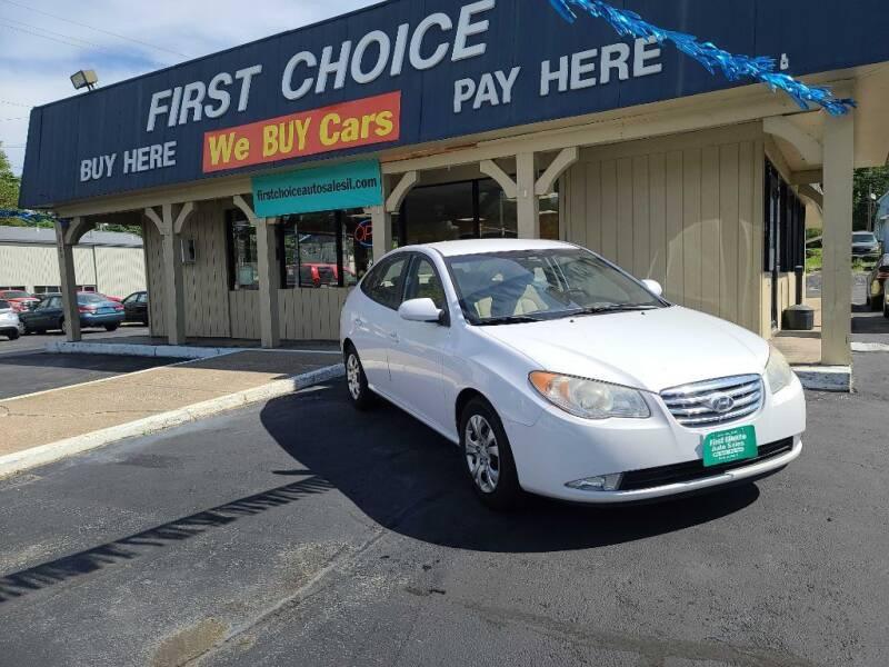 2010 Hyundai Elantra for sale at First Choice Auto Sales in Rock Island IL