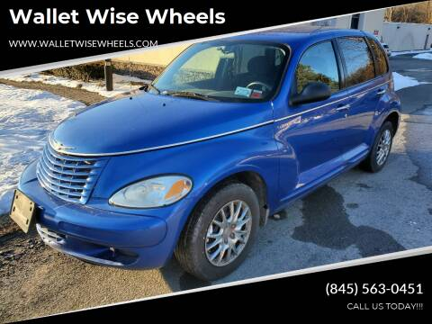 2004 Chrysler PT Cruiser for sale at Wallet Wise Wheels in Montgomery NY