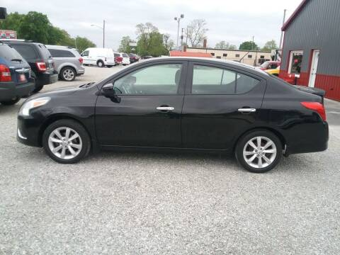 2015 Nissan Versa for sale at MIKE'S CYCLE & AUTO in Connersville IN