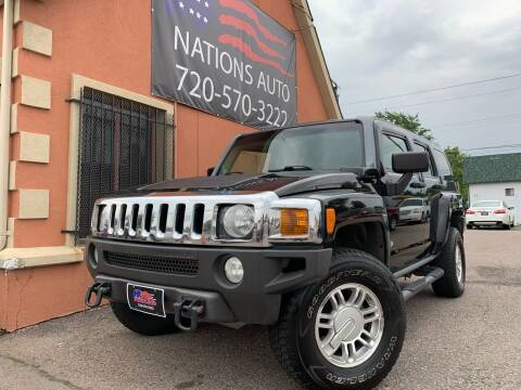 2006 HUMMER H3 for sale at Nations Auto Inc. II in Denver CO