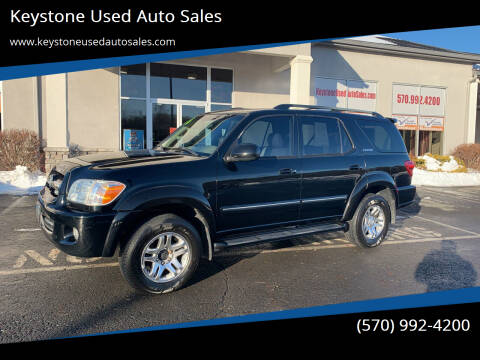 2006 Toyota Sequoia for sale at Keystone Used Auto Sales in Brodheadsville PA