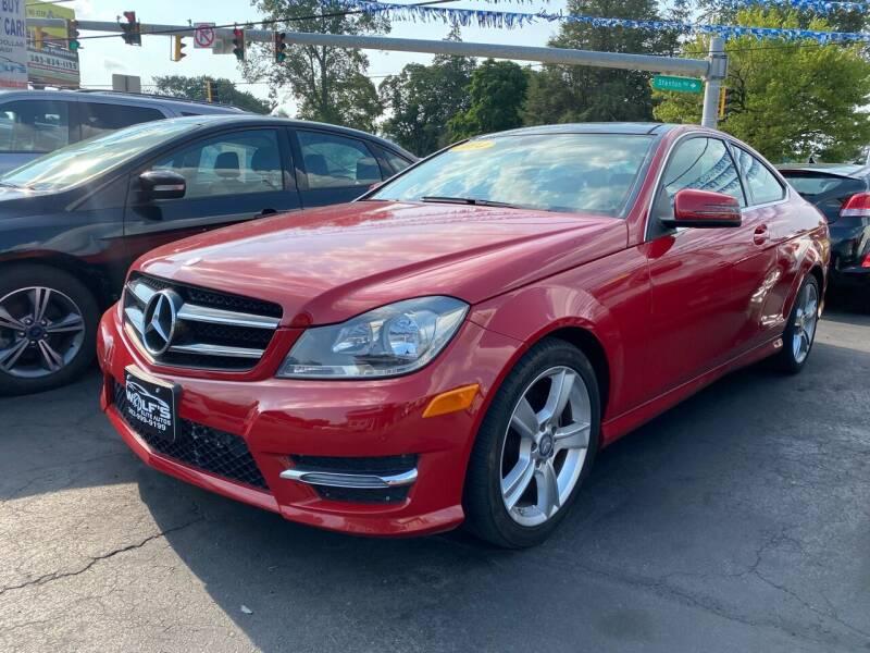 2014 Mercedes-Benz C-Class for sale at WOLF'S ELITE AUTOS in Wilmington DE