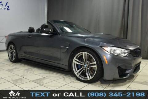 2016 BMW M4 for sale at AUTO HOLDING in Hillside NJ