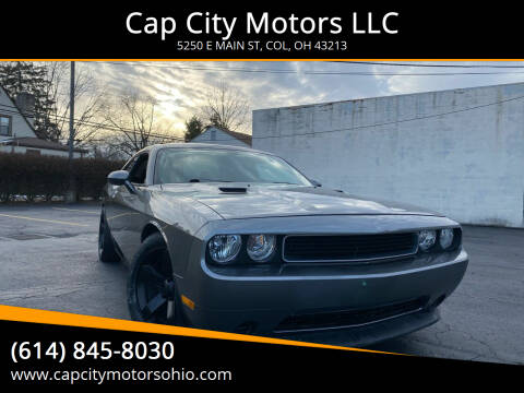 2012 Dodge Challenger for sale at Cap City Motors LLC in Columbus OH