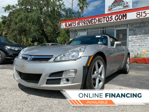 2008 Saturn SKY for sale at Always Approved Autos in Tampa FL