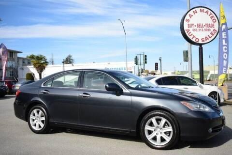 2007 Lexus ES 350 for sale at San Mateo Auto Sales in San Mateo CA