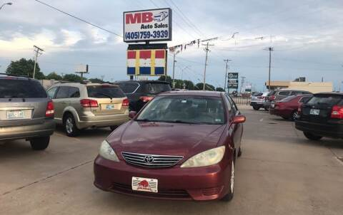 2005 Toyota Camry for sale at MB Auto Sales in Oklahoma City OK