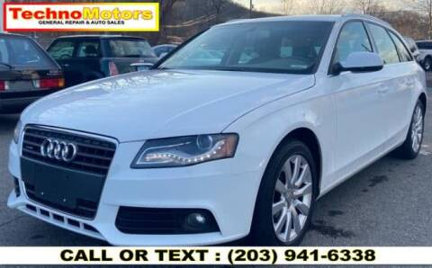2010 Audi A4 for sale at Techno Motors in Danbury CT