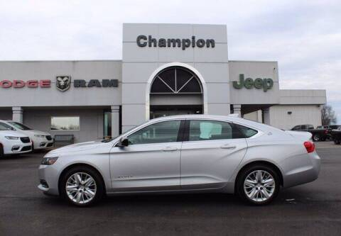 2016 Chevrolet Impala for sale at Champion Chevrolet in Athens AL