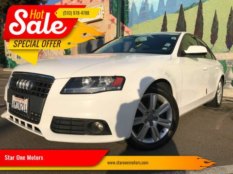 2010 Audi A4 for sale at Star One Motors in Hayward CA