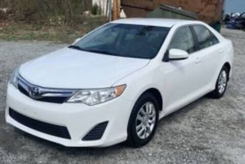 2014 Toyota Camry for sale at Diamond Automobile Exchange in Woodbridge VA