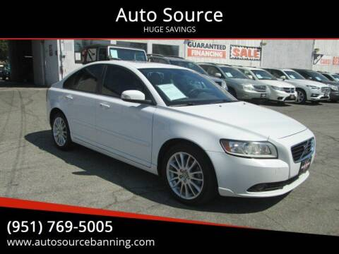 2010 Volvo S40 for sale at Auto Source in Banning CA