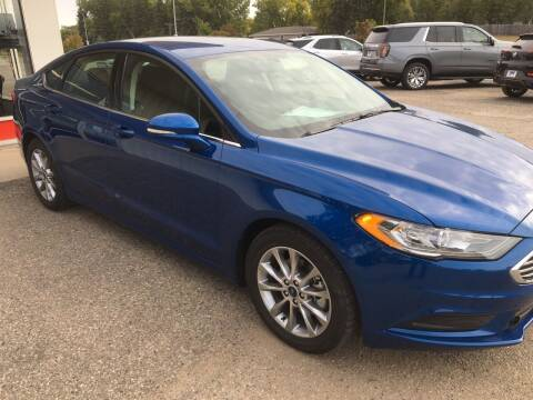 2017 Ford Fusion for sale at Drive Chevrolet Buick Rugby in Rugby ND