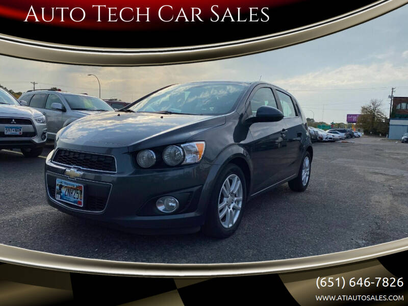 2012 Chevrolet Sonic for sale at Auto Tech Car Sales in Saint Paul MN