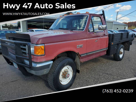 1991 Ford F-250 for sale at Hwy 47 Auto Sales in Saint Francis MN