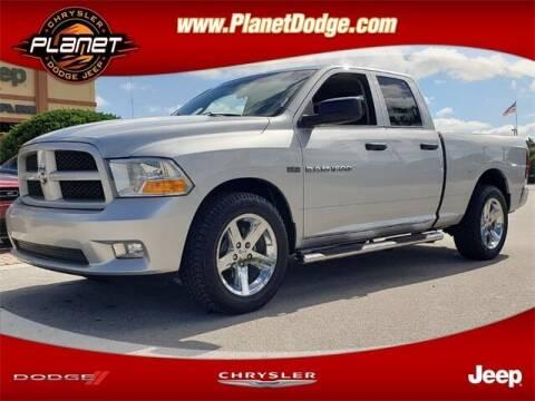 2012 RAM Ram Pickup 1500 for sale at PLANET DODGE CHRYSLER JEEP in Miami FL