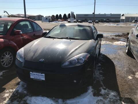 2008 Hyundai Tiburon for sale at BARNES AUTO SALES in Mandan ND