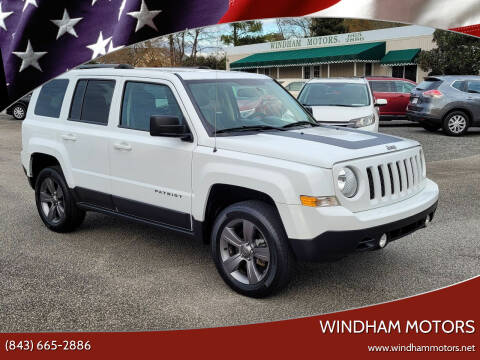 2017 Jeep Patriot for sale at Windham Motors in Florence SC